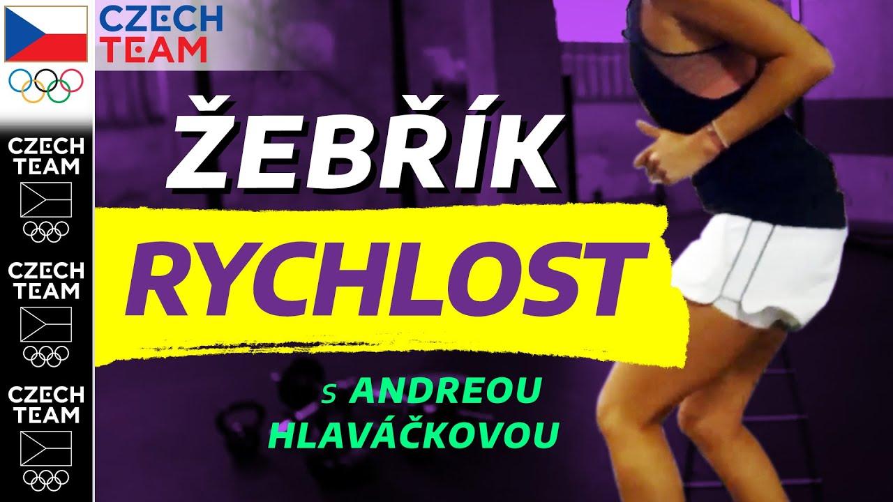 Tipy na RYCHLÉ NOHY | Cvičení s Andreou Sestini Hlaváčkovou ep. 6