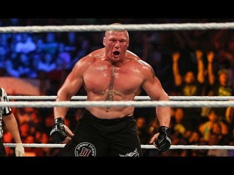 FULL MATCH   Goldberg vs  Brock Lesnar   Universal Championship Match WrestleMania 33