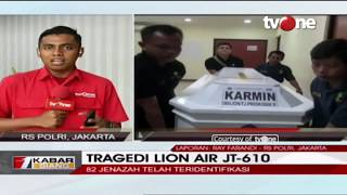 Video 82 Jenazah Tragedi Lion Air JT-610 Telah Teridentifikasi MP3, 3GP, MP4, WEBM, AVI, FLV November 2018