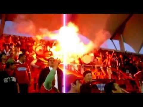 Salida Los Rediablos.Ñublense-Palestino 2011. - Los REDiablos - Ñublense