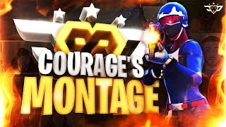 COURAGE'S OFFICIAL FORTNITE MONTAGE - Edited by Snipetality