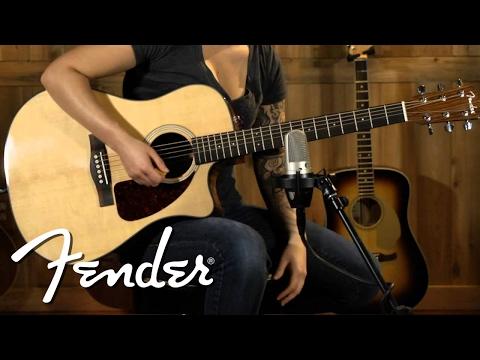 Fender CD-140SCE Dreadnought Natural
