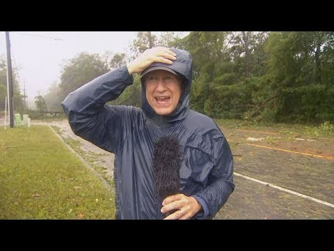 On the ground as Hurricane Florence arrives in North Carolina | Q&A
