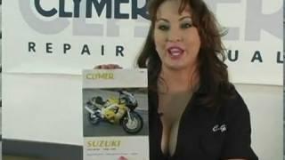 8. Clymer Manuals Suzuki GSX-R750 GSXR 750 GSXR Manual Service Repair Shop gsxr.com Video
