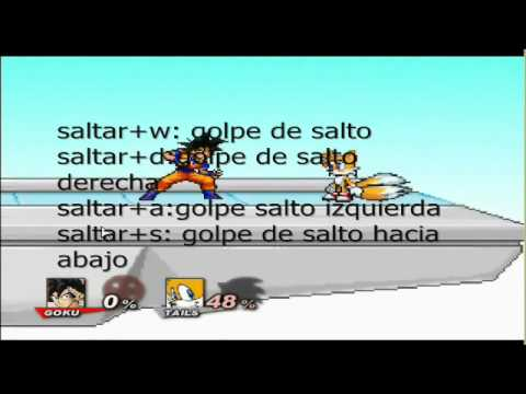 Para Pc Super Full 1 Link Tutorial Con Voz Super Smash Flash 2 V0 8