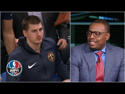 Video: Will Nikola Jokic be suspended for leaving bench during Nuggets-Jazz scuffle? | After the Buzzer