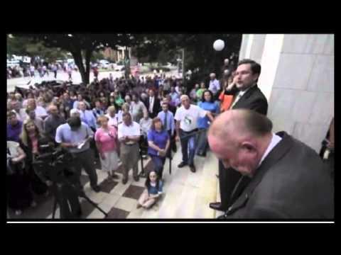 Attorney Gibbs Speaks at the Rowan County Rally on 9/16