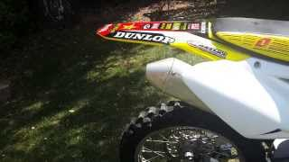 2. Suzuki RMZ 450 Walk around and start up 2009