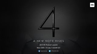 2017 Redmi Note 4 Product Launch Event