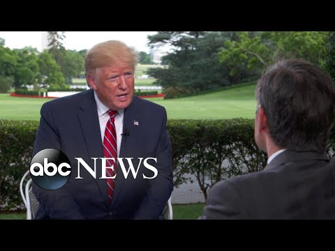 A Preview Of ABC News' Exclusive One-on-one Interview With Trump