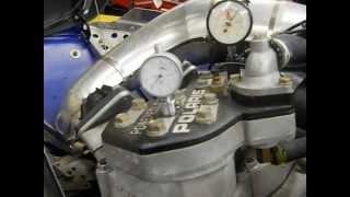 8. Twisted Crankshaft on Polaris twin snowmobile