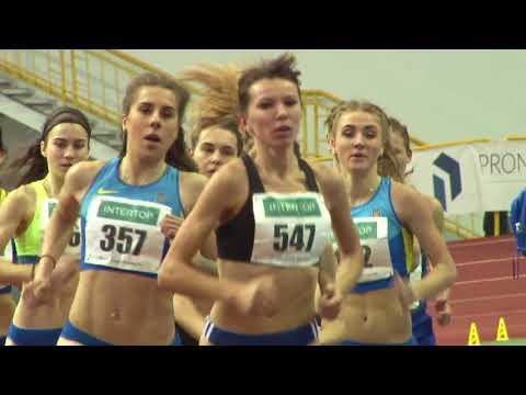Орися Дем'нюк (Мочульська) вибороло золото Чемпіонату України у приміщенні на дистанції 1500 метрів.