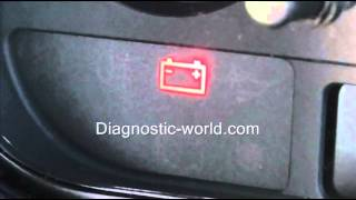Ford Battery Warning Light   What it means & Checking It