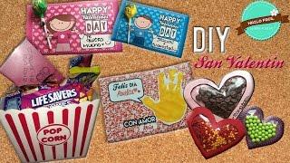 4 Ideas De Regalos Para San Valentin - Regalos 14 De Febrero - DIY San Valentin - Regalos Faciles