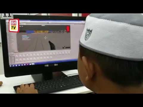 Budak 12 tahun cipta permainan komputer