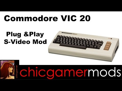 Commodore VIC 20 Plug & Play S-video Mod