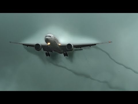 Storming The Rain Clouds: SkyCargo 777 (4K)