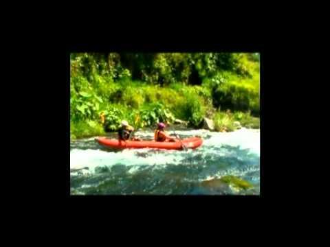 Cottages Muskoka Mexico white water kayaking trip video