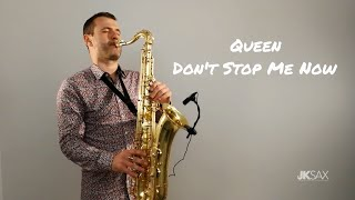 Video Queen - Don't Stop Me Now - JK Sax Cover MP3, 3GP, MP4, WEBM, AVI, FLV Agustus 2018
