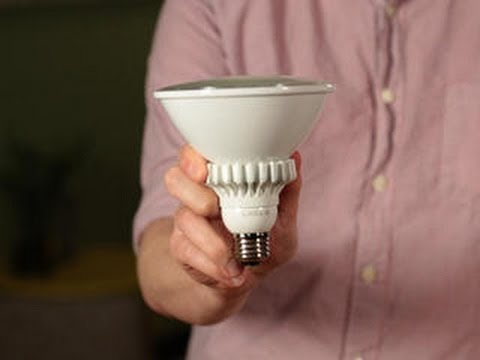 Taking a closer look at the new Cree PAR38 LED bulb