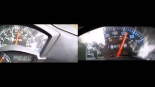 7. Kymco aglity RS 90cc acceleration