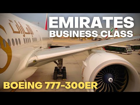 Emirates Business Class Boeing 777-300ER Review 2020 - Brand new completely redesigned interior!