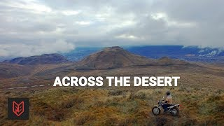 2. Crossing the Desert on a Yamaha TW200 - 2018 Review