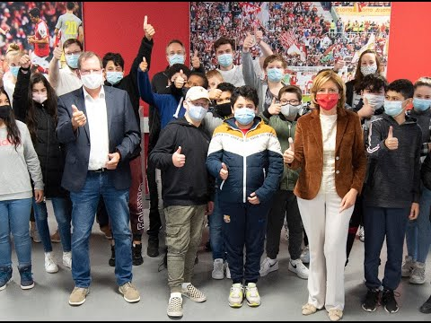 Die Kinderakademie 2020 in der Mainzer Opel-Arena