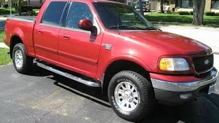 2002 Ford F-150 XLT SuperCrew 4x4, For Sale on Ebay