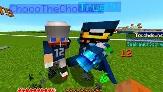Minecraft SUPERBOWL - Seahawks Vs Patriots (Minecraft Football Mini-Game)