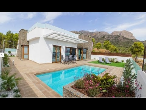The best modern villas at the lowest price at the north of the Costa Blanca!