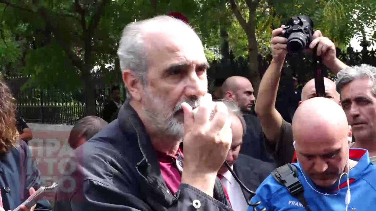Oλοκληρώθηκε η διαμαρτυρία εργαζομένων στην ιδιωτική τηλεόραση