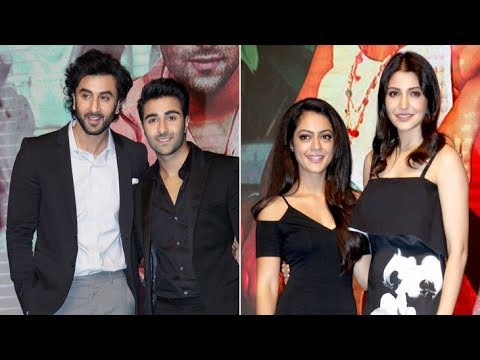 Ranbir Kapoor & Anushka Sharma Introduce YRF's New Talent Aadar
