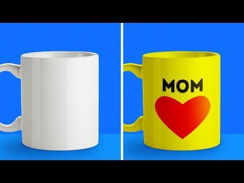 20 LOVELY HANDMADE GIFT IDEAS FOR MOMS