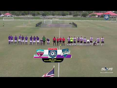 MIAMI UNITED FC Vs STORM FC NPSL May 12th 2018 HD