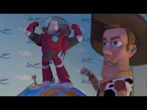 Toy Story  - Early Test Animation