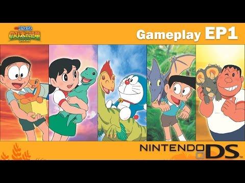 【任天堂DS】哆啦A夢 -「新·大雄的恐龍」遊戲影片 – Part1