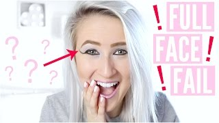 Video Full Face Using ONLY Eyeshadow (FAIL) | Sophie Louise MP3, 3GP, MP4, WEBM, AVI, FLV Januari 2018