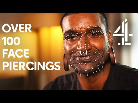 Man with 3,500 Puncture Piercings - Including Genitals | Body Shockers