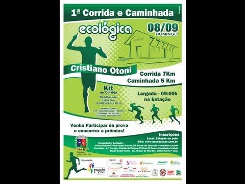 1ª Corrida e Caminhada Ecológica de Cristiano Otoni - MG
