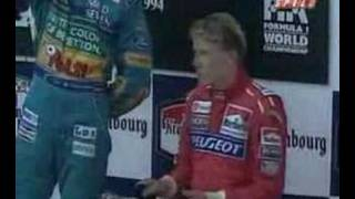 Finally everybody knows the Ayrton Senna' s death. This is the real podium video for San Marino 1994 at Imola.