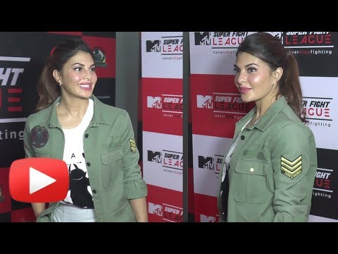Jacqueline Fernandez at MTV Super Fight League