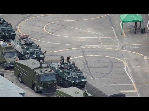 Παγκόσμια ανησυχία για την συγκέντρωση κινεζικών δυνάμεων στα σύνορα…