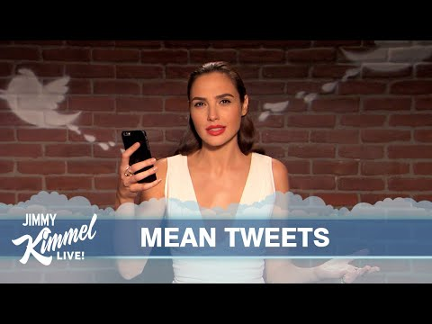Celebrities Read Mean Tweets About Themselves 11