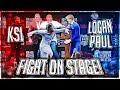 Ksi Punched Logan Paul At Press Conference Highlights
