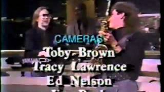 Tom Scott And Band Perform On The Pat Sajak Show