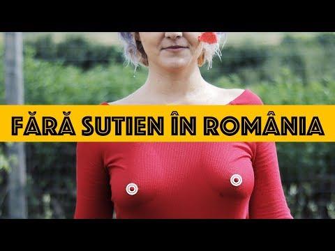 Cum te simți fără sutien în România