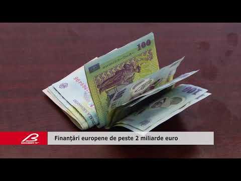 Finanţări europene de peste 2 miliarde euro