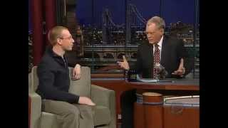 At 3.14 (3 minutes 14 seconds) David Letterman learns what pi means! Daniel Tammet is an amazing math genius who ...