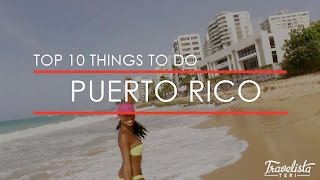 S U B S C R I B E: http://bit.ly/TravelistaTeri Here's a countdown with links for my top 10 things to do in Puerto Rico! ▽◦▽◦▽LINKS ...